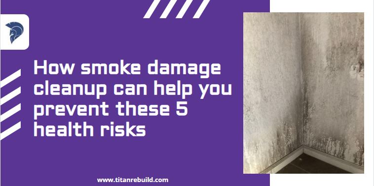 smoke damage house wall