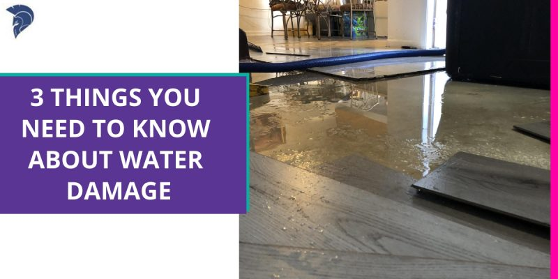 3 Things You Need to Know About Water Damage