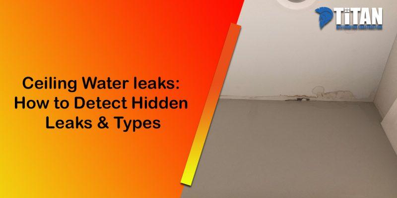 Ceiling leak in residential property jupiter