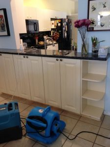 water damage emergency at Jupiter home