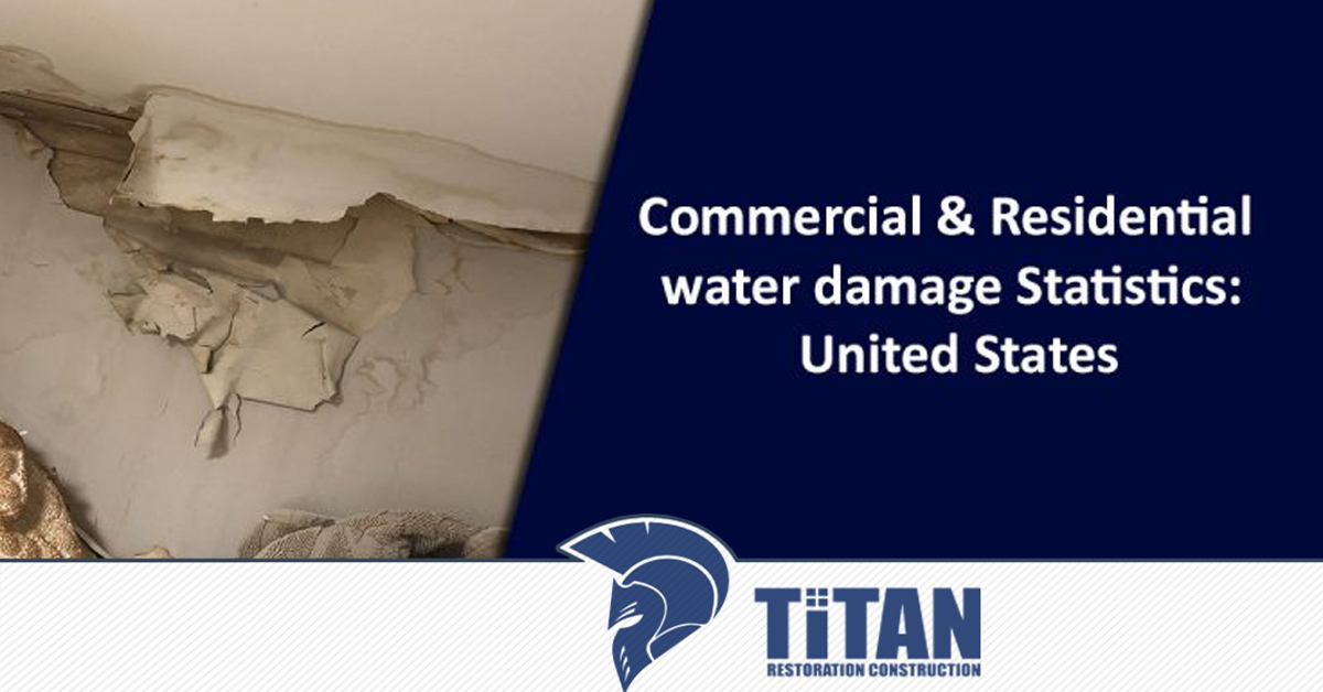 Commercial & Residential Water Damage Statistics