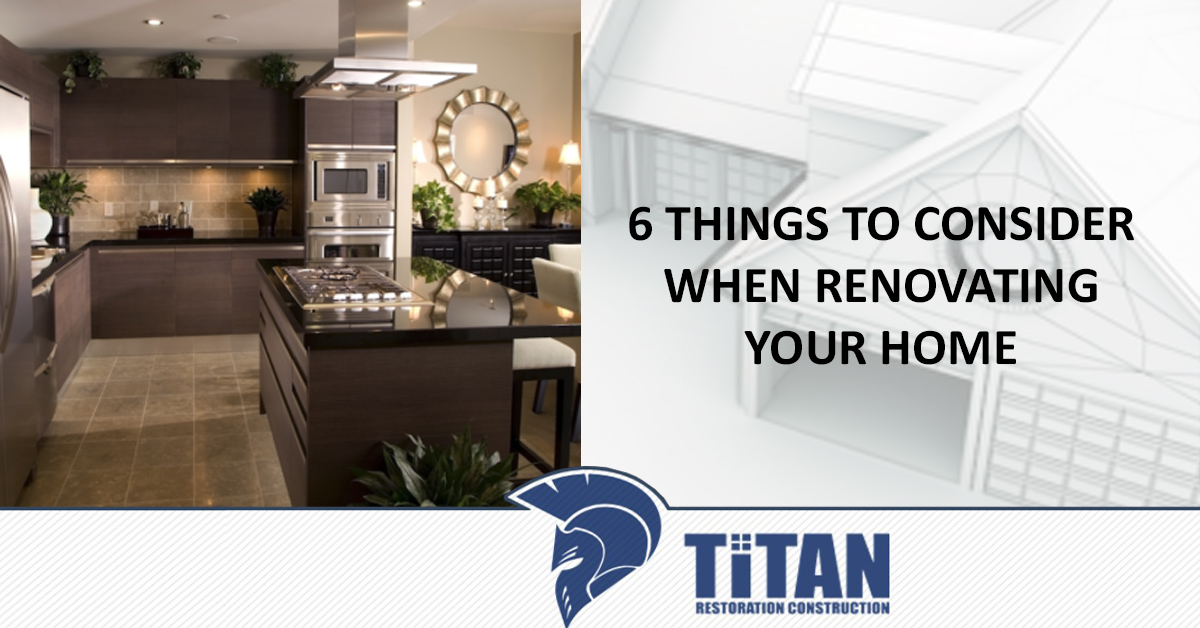 5 Things to Consider When Renovating Your Home