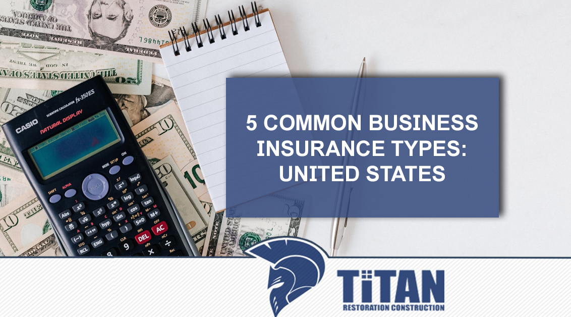 5 Common Business Insurance Types United States