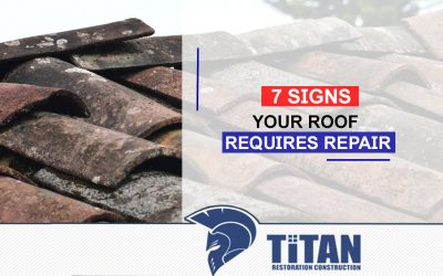 7 Signs Your Roof Requires Repair