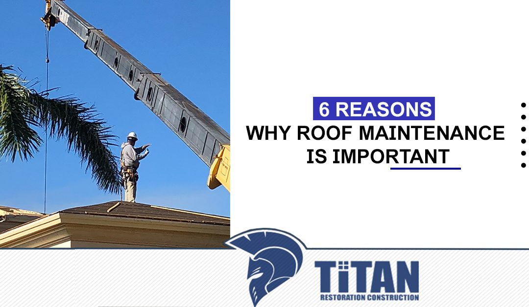 6 Reasons Why Roof Maintenance Is Important