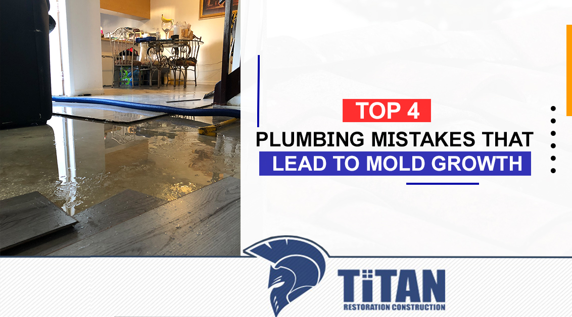 Plumbing Mistakes That Lead To Mold Growth