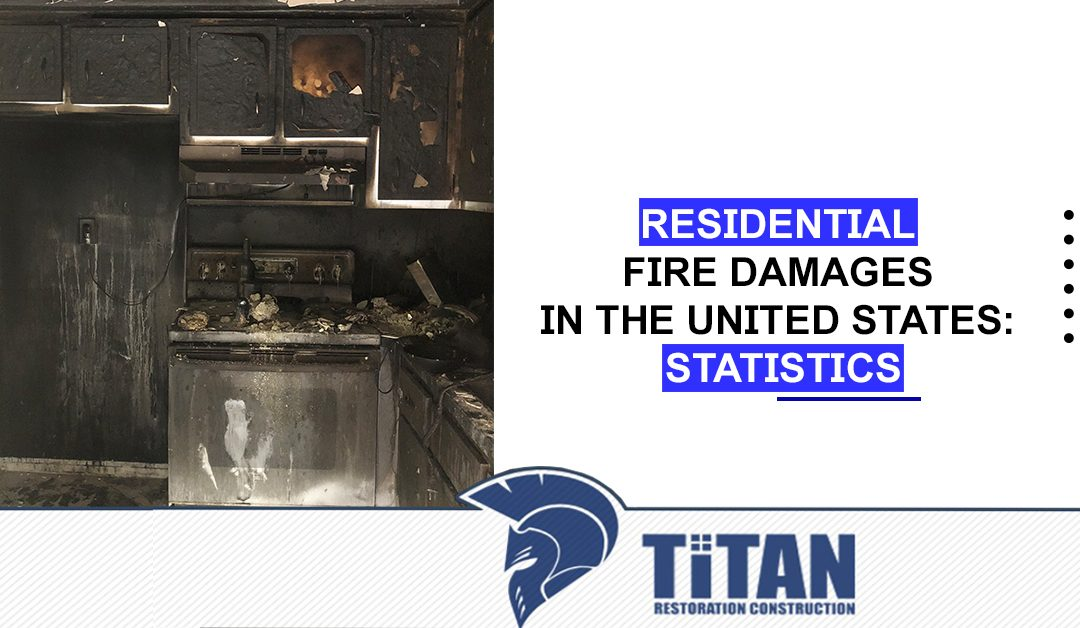 Residential Fire Damages in the United States: Statistics